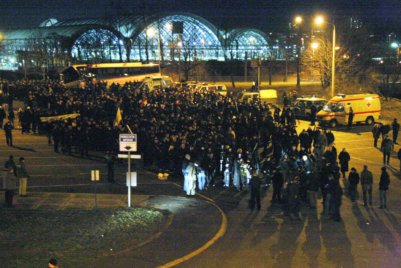 Neonazi-Aufmarsch in Dresden am 13.02.09