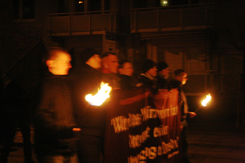Neonazis Dresden, 13.2.09