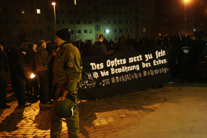 Neonazis Dresden, 13.02.09