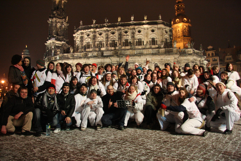 Geh Denken, Dresden, 14.02.09