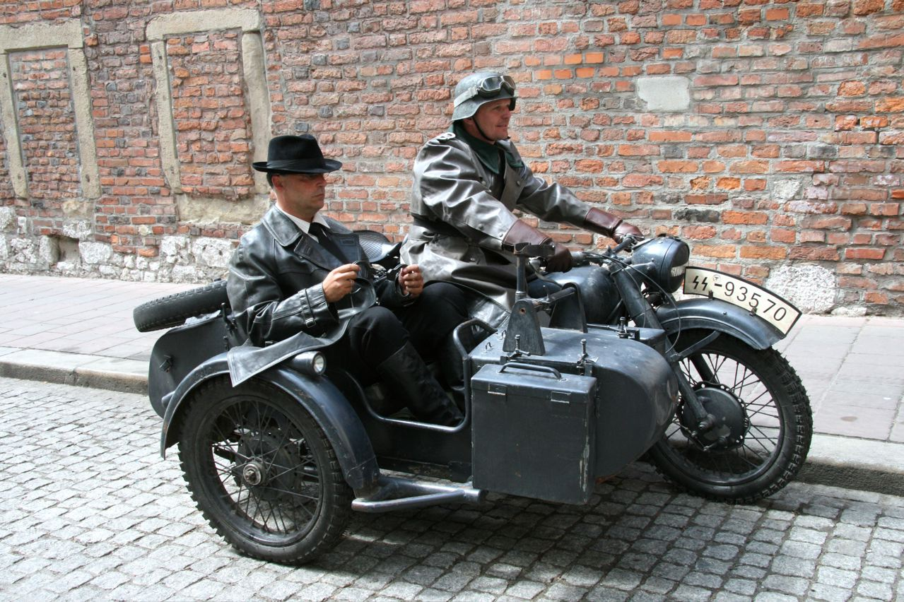 Im Motorrad