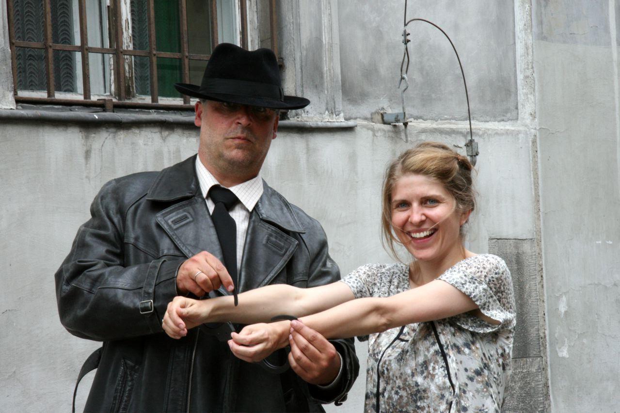 Mit Regisseurin Anja Jadowska