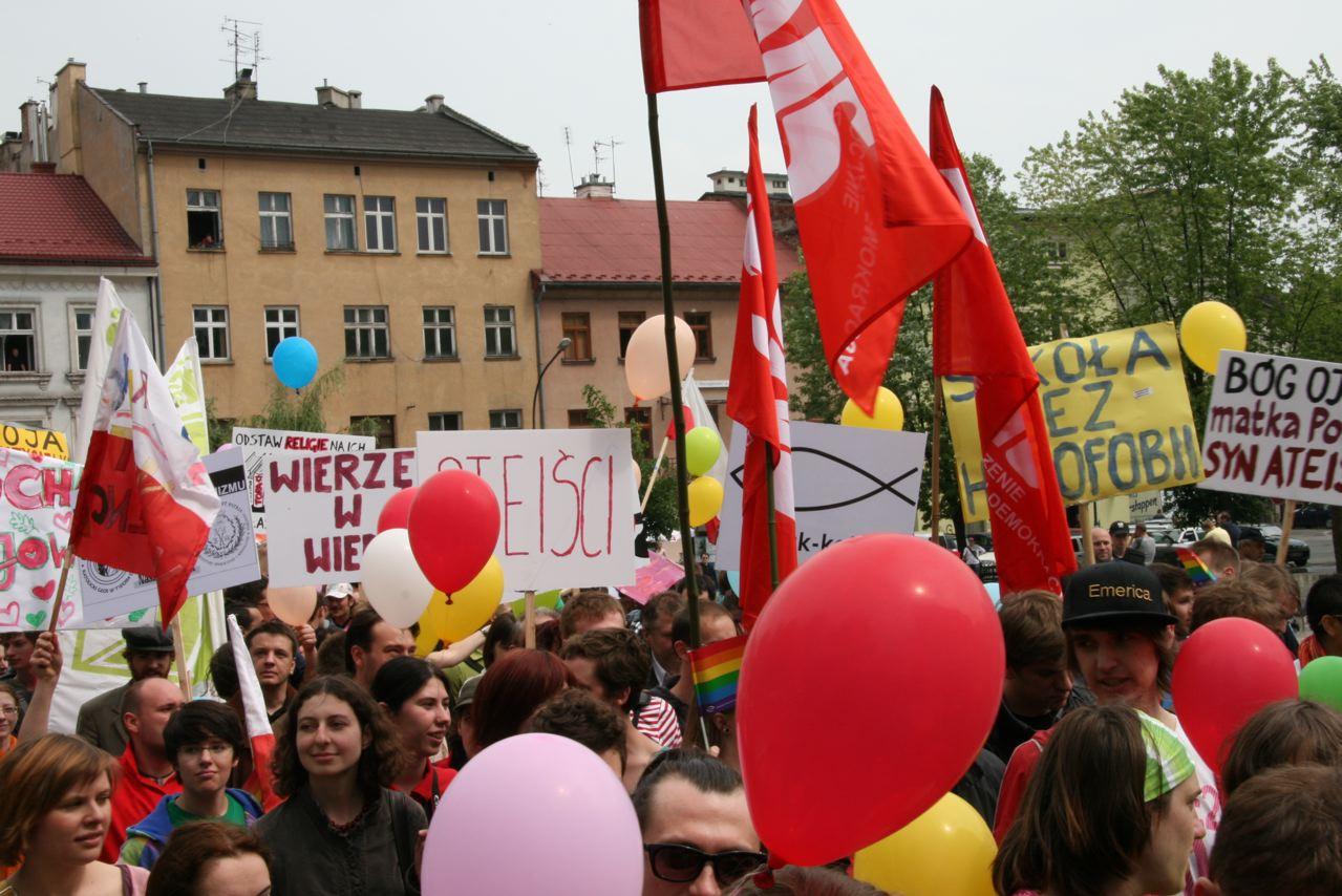 Marsch der Toleranz, Krakau, 16.05.09