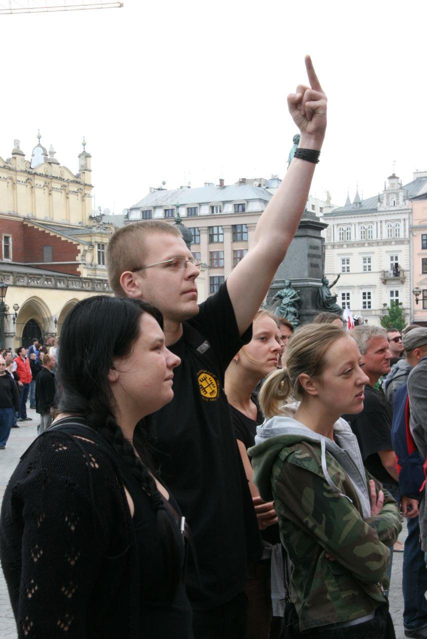Marsch der Tolernz, Krakau