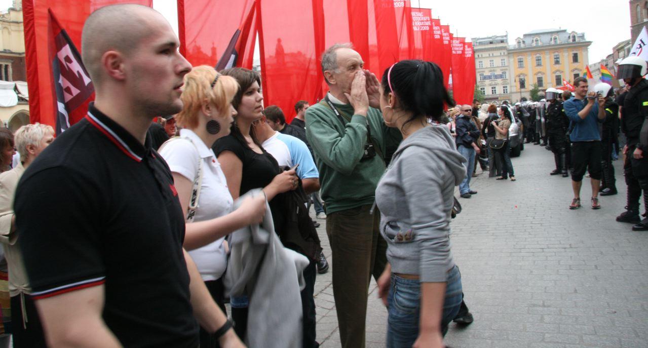 Marsch der Toleranz, Krakau