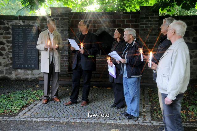 Friedensgebet mit Christian Führer in Colditz