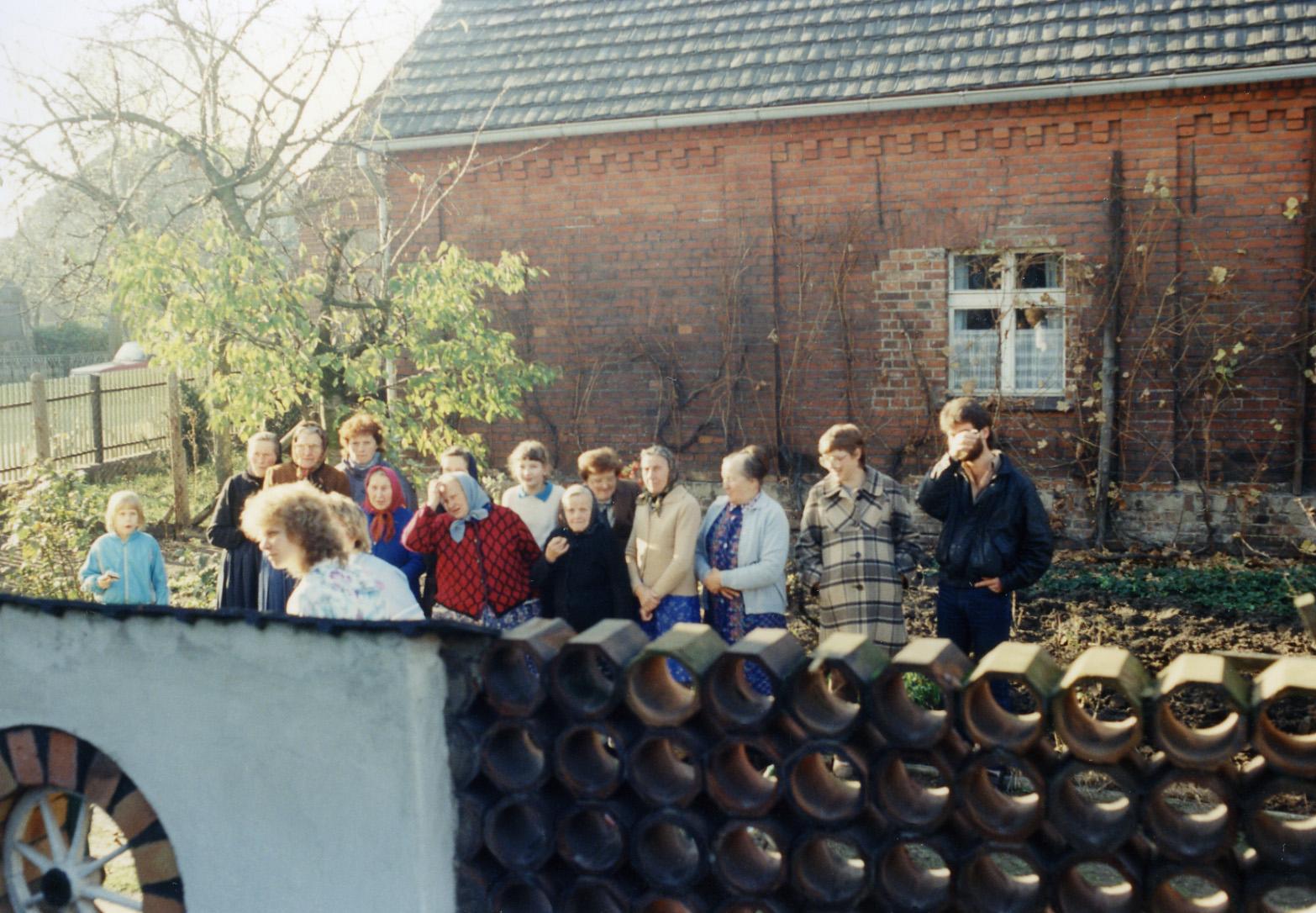 Zaungäste in Drehnow